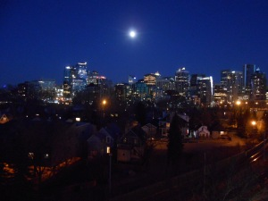 Full Moon Skyline