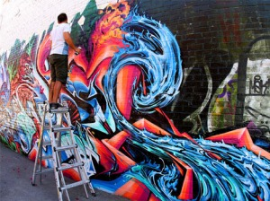 graffiti-artist-ladder