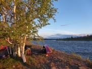canoeonshore